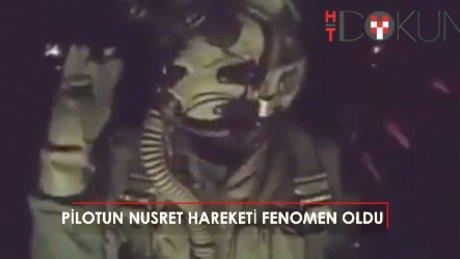 El Bab'ı bombalayan Türk pilottan 'Nusret' taklidi