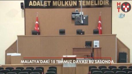 Malatya'daki 76 sanıklı FETÖ davası işte bu salonda!