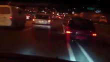 Trafik magandası terör estirdi