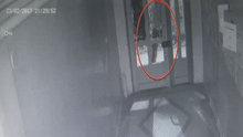 Ankara'da bir şüpheli duvarlara yazı yazıp camları kırıyor