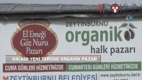 İstanbullunun tercihi organik pazar
