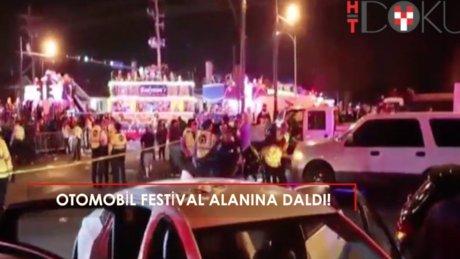 New Orelans'ta festival alanına otomobil girdi: 28 yaralı