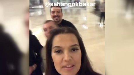 Demet Akalın'dan Şahan'a tebrik videosu
