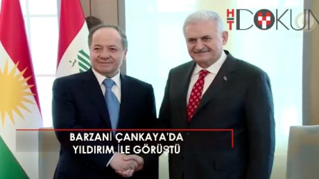 Başbakan Yıldırım IKBY Başkanı Barzani'yle görüştü