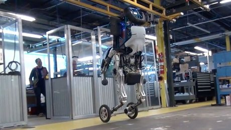 Robot Handle yeni videosuyla yeniden gündemde