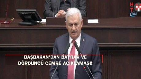 Başbakan Yıldırım'dan 'bayrak' açıklaması