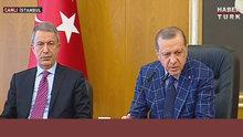 Cumhurbaşkanı Erdoğan'dan 'Karargah rahatsız' manşetine yanıt