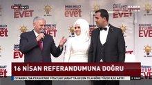 AK Parti mitinginde nikah kıyıldı