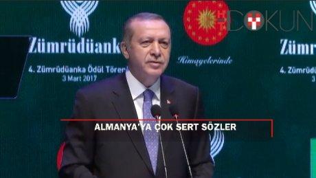 Erdoğan'dan Almanya'ya sert tepki, şok suçlama: 'O ajan 1 ay boyunca...'
