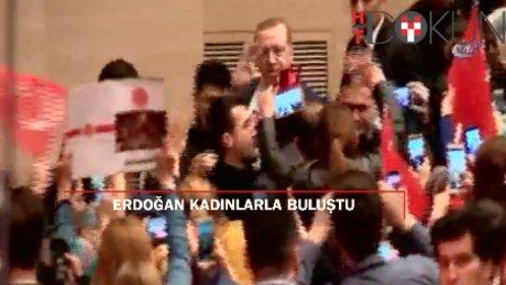 """Erdoğan: """"Kadın meselesi tüm insanlığın ortak meselesidir"""""""