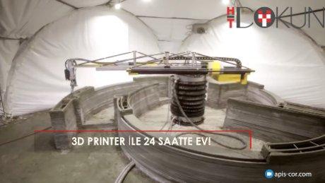 3D yazıcıyla 24 saatte ev
