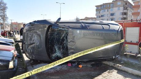 Ölüm üniversiteli Burcu'yu kaldırımda yakaladı