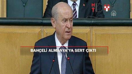 """Bahçeli: """"Türkiye kaynarsa Berlin yanar"""""""