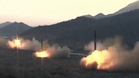 Kuzey Kore füze fırlatma videosunu yayınladı