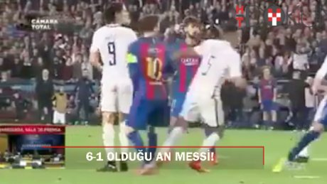 Nou Camp'ta tarihi gece: 6. golün hemen ardından Messi