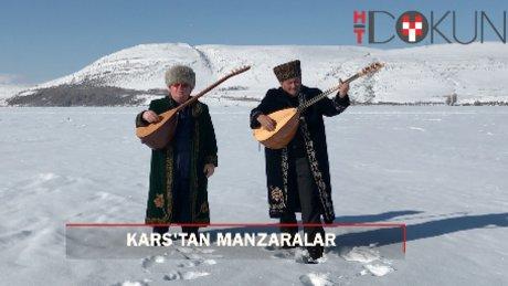Kars'tan kış manzaraları