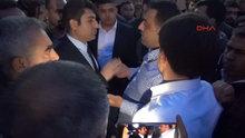 Özdağ ve Halaçoğlu'na tepki göstermek isteyen gruba polis engeli