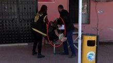 Fuhuştan yakalanan hamile kadın basın mensuplarını görünce şok oldu