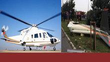 Güntay Şimşek'ten düşen helikopterle ilgili açıklama