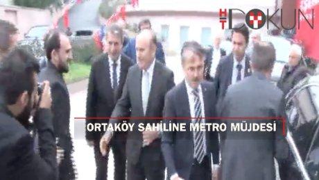 "Kadir Topbaş: ""Ortaköy sahilinden Sarıyer'e metro"""