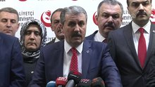 """Mustafa Destici: Referandumda """"evet"""" diyeceğiz"""