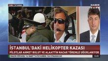 Helikopter kazasında hayatını kaybeden pilotlar için son görev
