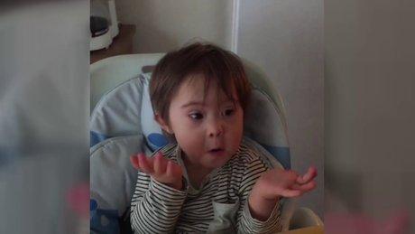 Özgün'ün oğlu Ediz sosyal medyayı salladı