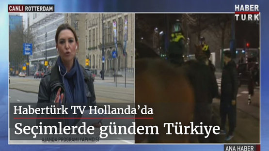Habertürk TV Hollanda'da