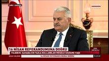 Binali Yıldırım: FETÖ ve PKK 'Hayır' diyor
