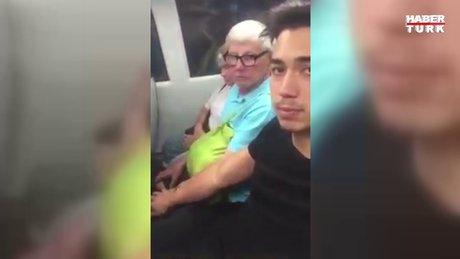 Toplu taşımalarda insanlara dokunan genç