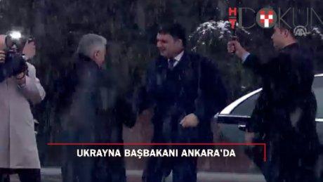 Ukrayna Başbakanı Groysman Ankara'da