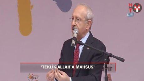 """Kılıçdaroğlu: """"Milletin kaderini mahkemeler değil, millet belirleyecek"""""""