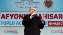 Cumhurbaşkanı Erdoğan Afyonkarahisar'da konuştu