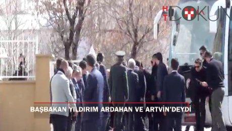 Başbakan Yıldırım Ardahan ve Artvin'de konuştu