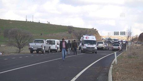Mardin- Diyarbakır karayolunda patlama