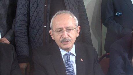 Kılıçdaroğlu kahvede vatandaşlarla buluştu