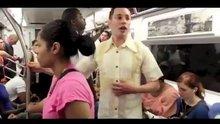 Metro'da kendisine eş arayan adamın dramı