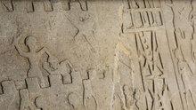Tesadüfen bulunan kabartma 4 bin yıllık çıktı