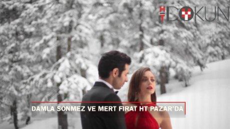 Damla Sönmez ve Mert Fırat'la Uludağ'da romantik bir gün