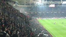 Beşiktaş Vodafone Arena'da sirtaki keyfi