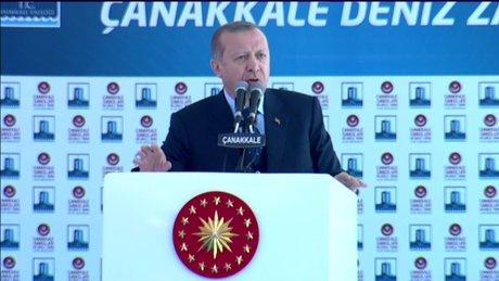 """Cumhurbaşkanı Erdoğan, """"Benim milletim en güzel cevabı verecektir"""""""