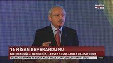 """Kılıçdaroğlu, """"Dengesiz ve haksız kouşullarda çalışıyoruz"""""""