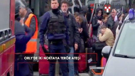 Orly Havalimanı'nda terör