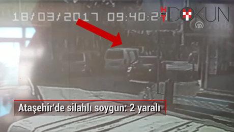 Ataşehir'de kuyumcu soygunu girişimi