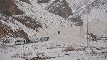 Van-Çatak karayoluna çığ düştü