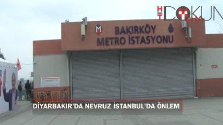 Nevruz'a Diyarbakır'da kutlama, İstanbul'da önlem