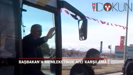 Başbakan Yıldırım Erzincan ve Sivas'ta