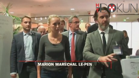 Tartışılan güzel Fransız: Marion Maréchal Le-Pen