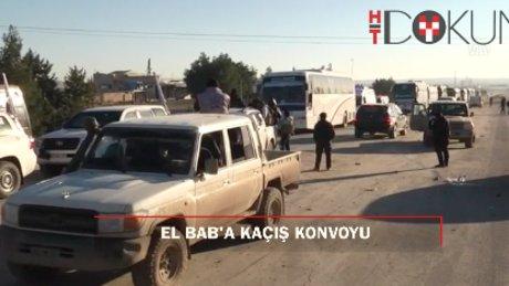 Vaer'den 1500 kişi otobüslerle El Bab'a kaçtı