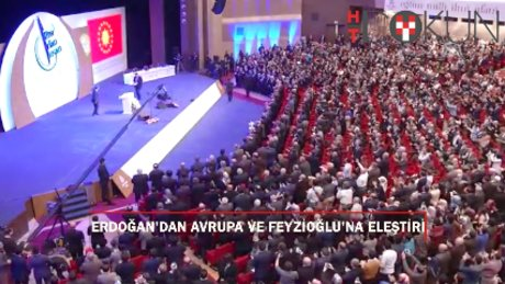"""Erdoğan: """"Avrupa'ya giden bakanı değil PKK'yı ve FETÖ'cüleri konuşturuyorlar"""""""